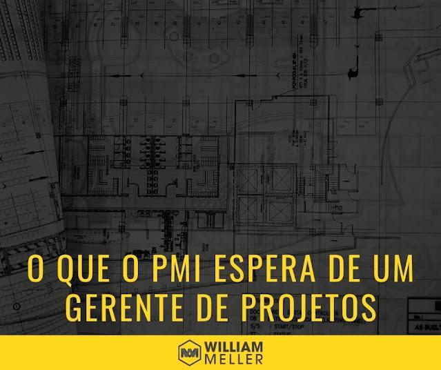 O que o PMI espera de um gerente de projetos?