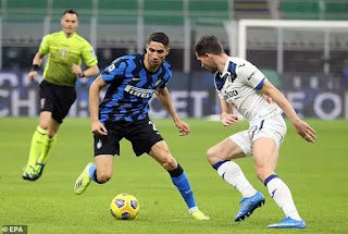 Arsenal to battle Chelsea for £40m Inter Achraf Hakimi