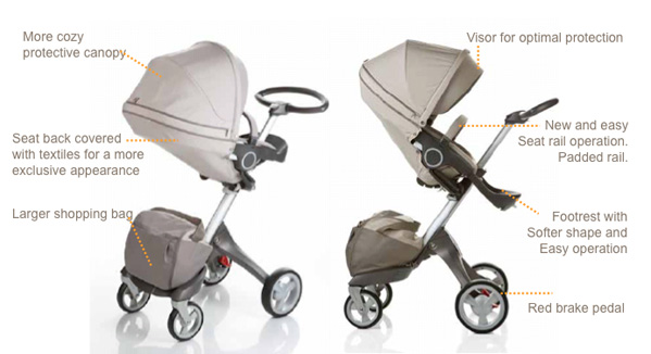 2010 Stokke Xplory features