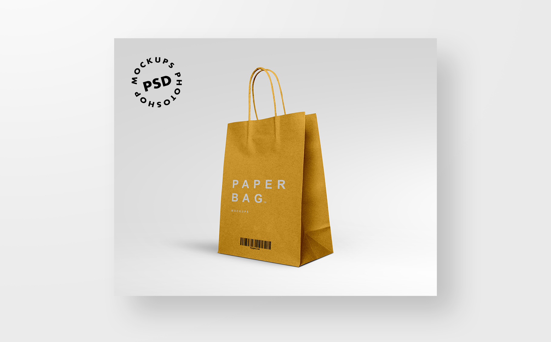 free jute bag mockup (psd) simply a jute bag mockup graphic built based on a real image and made available for easy customization inside photoshop with smart layers and backgorund color. 2 Paper Bag Mockups Free Download Photoshop Mockups Template Psd File