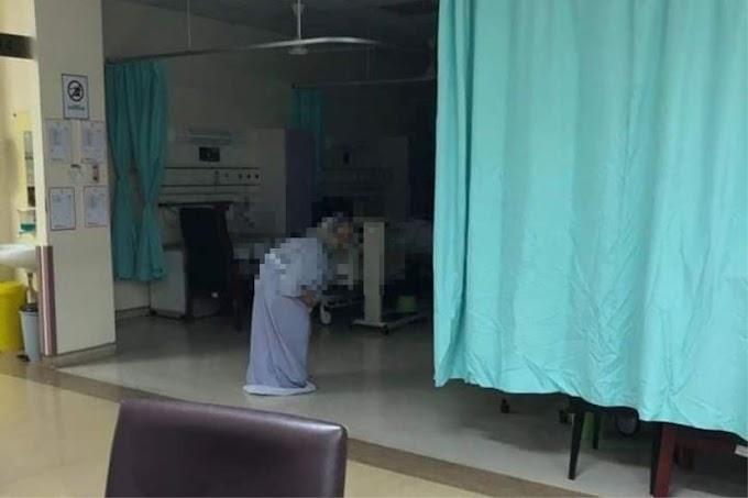 Siapa nenek berjalan di wad pukul 2 pagi? Jabatan Kesihatan Negeri Sembilan tampil beri penjelasan