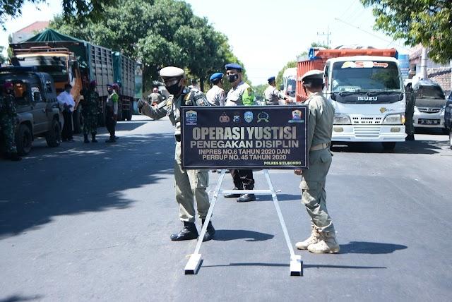 Satgas Inpres Gelar Operasi Yustisi, 26 Pelanggar Sidang Ditempat