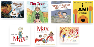 Cover images of the books listed below.