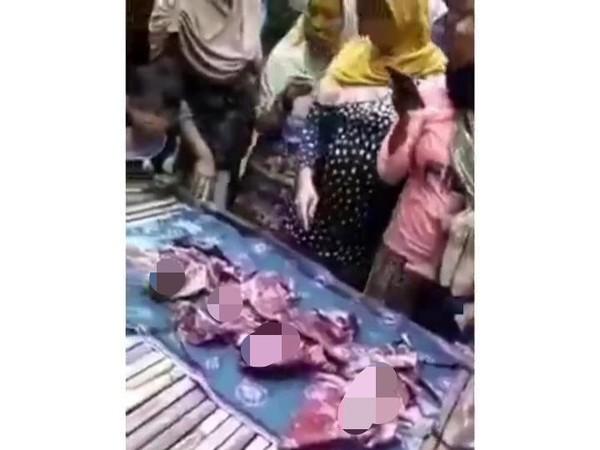 Viral Ibu Lahirkan 4 Bayi Sekaligus Sendirian di Bangkalan