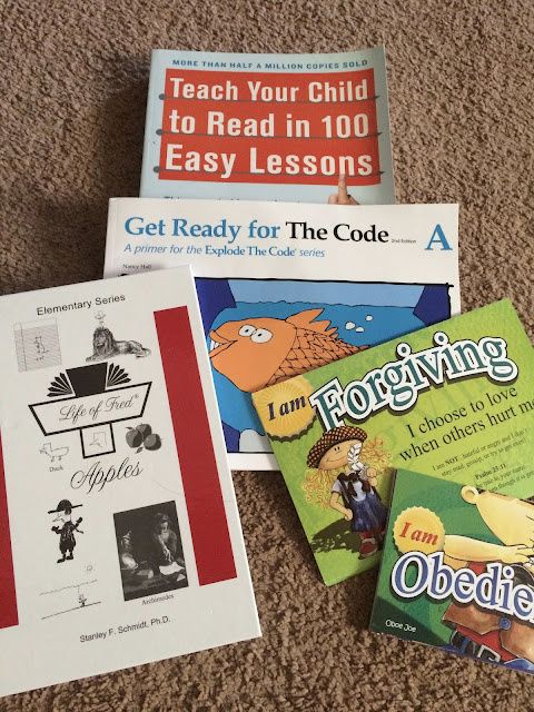 Our Homeschool Curriculum This Year