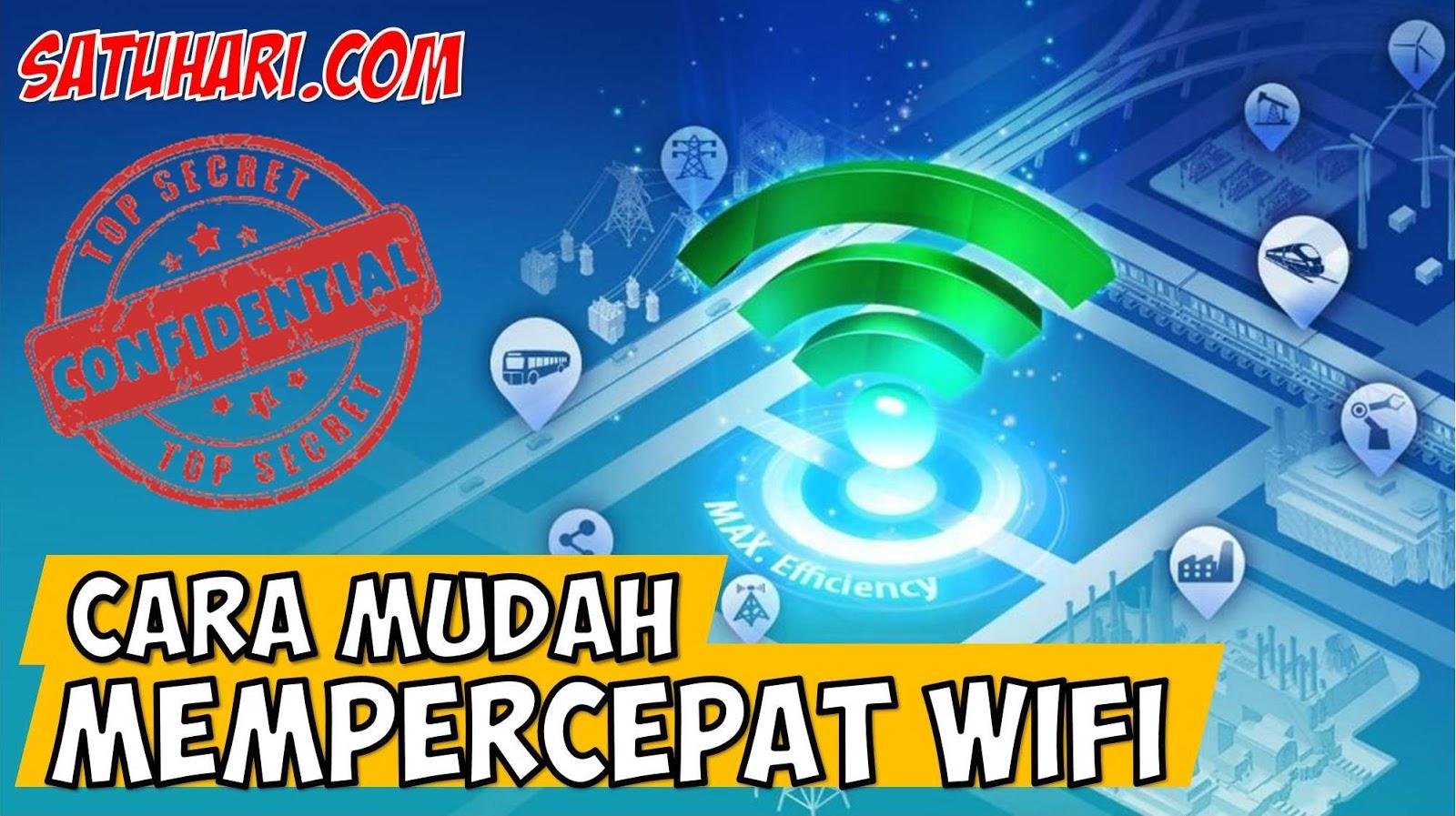 Ampuh 11 Cara Mempercepat Jaringan Wifi Indihome Laptop Hp