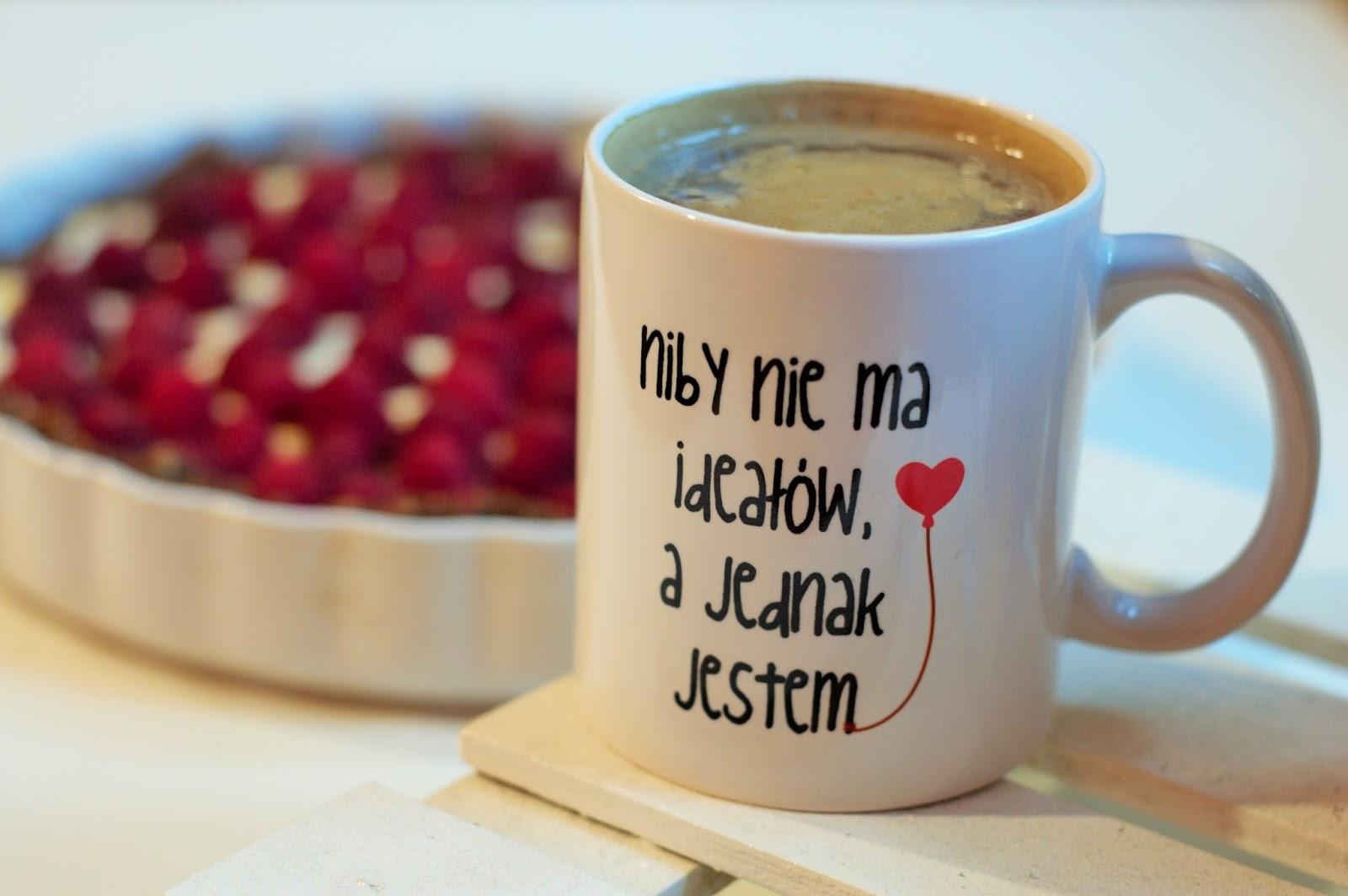 malinowa tarta bez pieczenia ! | idealna do kawy | kubek z MyGiftDna