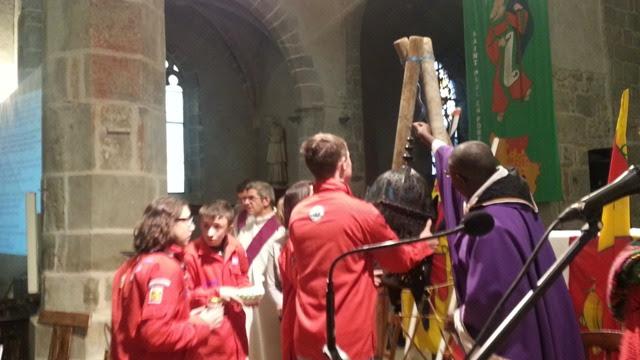 Les mouvements scouts ont apporté la lumière de Bethléem