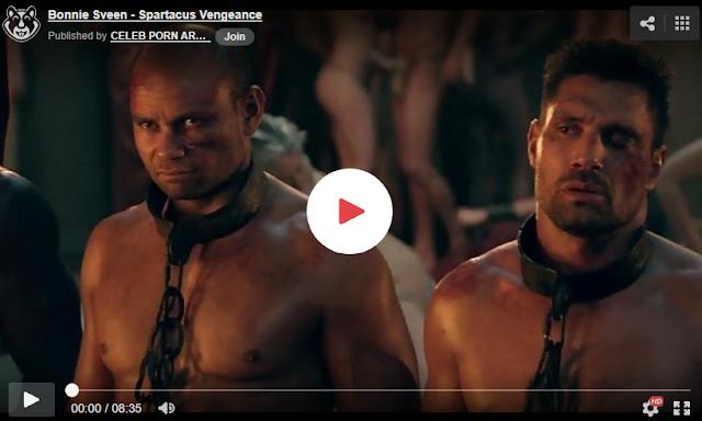 desnudos en la serie spartacus, vergas