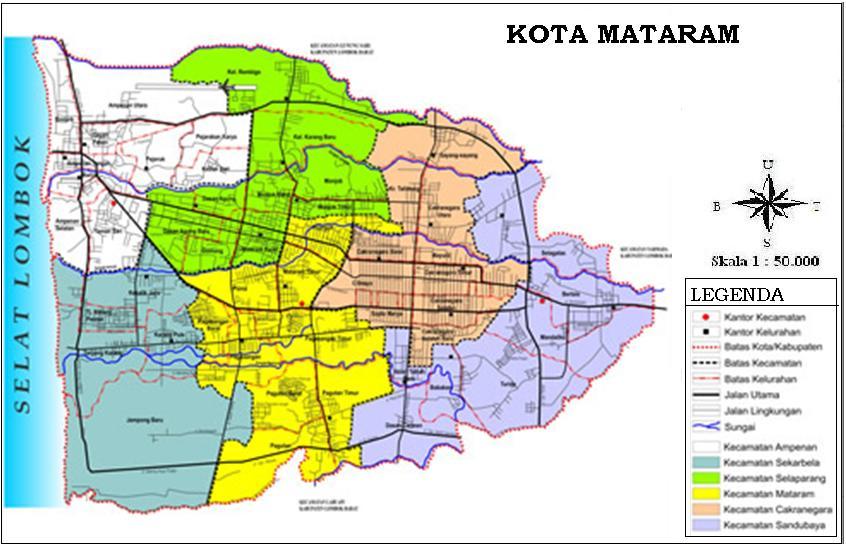 PROFIL KOTA MATARAM ~ GEOGRAFI REGIONAL INDONESIA