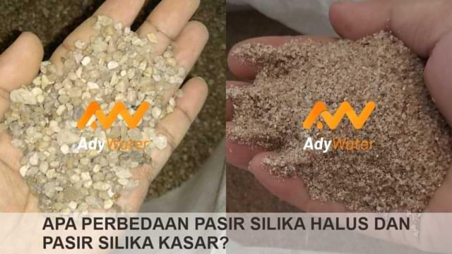 perbedaan pasir silika halus dan pasir silika kasar