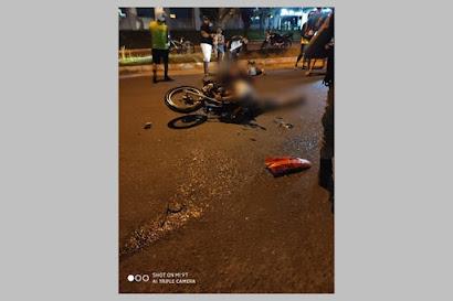 Colisão entre moto e caminhão deixa dois jovens gravemente feridos em Guarabira, PB