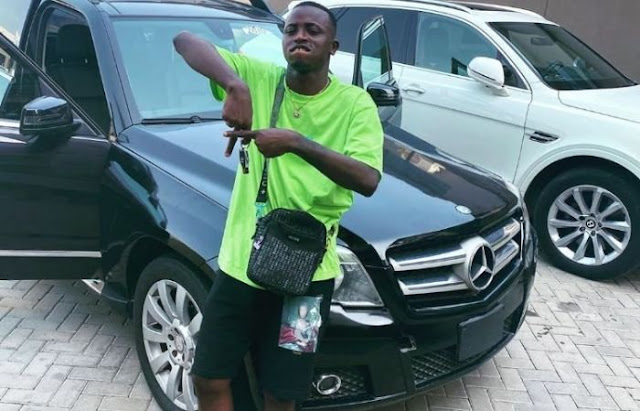 Davido's P.A Aloma Survives Car Accident In Lagos