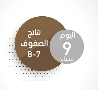 نتائج امتحانات الامارات للصفوف السابع والثامن 2018-2019