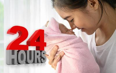 24 Jam Pertama Bagi Bayi Wajib Bunda Tahu