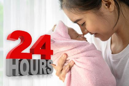 24 Jam Pertama Bayi yang Bunda Wajib Tahu