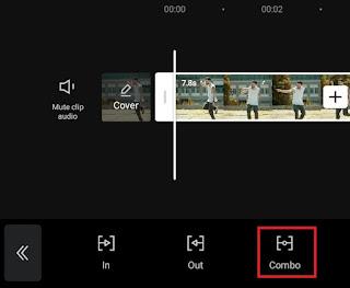 choose combo animation category