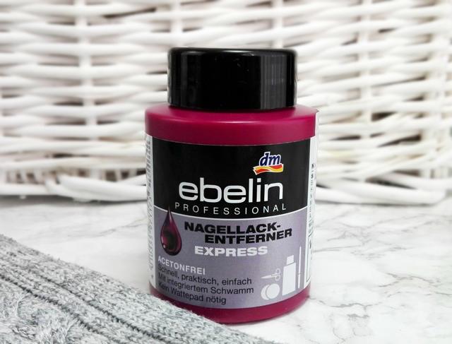 Ebelin Professional Nagellack Entferner Express