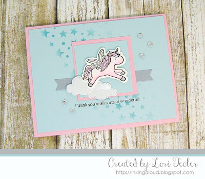 I Think You're All Sorts of Wonderful card-designed by Lori Tecler/Inking Aloud-stamps from Mama Elephant