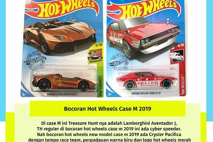 Bocoran Hot Wheels Case M 2019