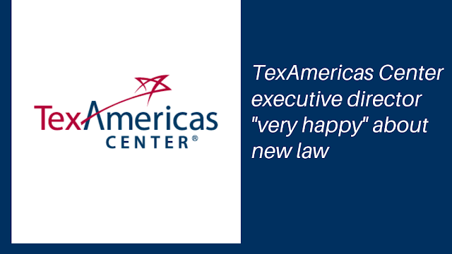 "TexAmericas Center executive director ""very happy"" with new law"