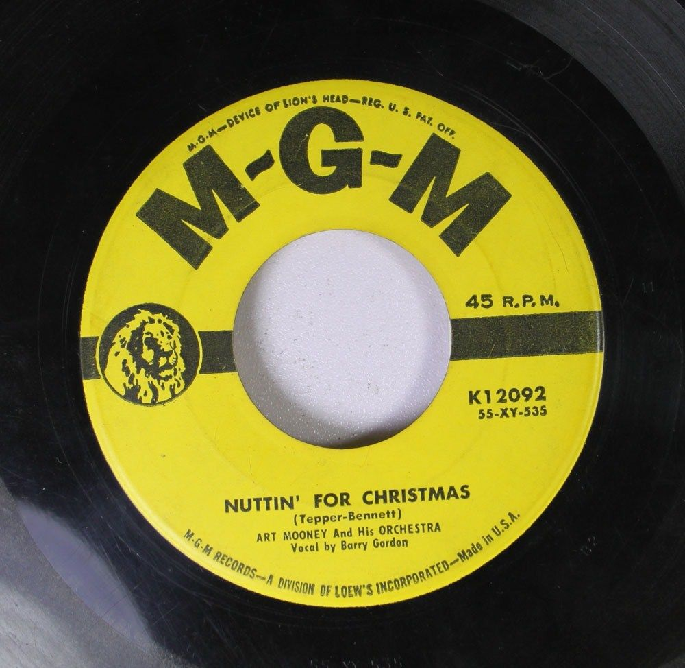 Im Gettin Nuttin For Christmas.History S Dumpster Nuttin For Christmas Bobby Stewart 1956