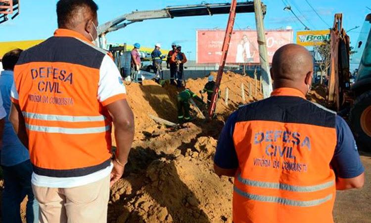 Três trabalhadores morrem após deslizamento de terra em canteiro de obras no Sudoeste da Bahia