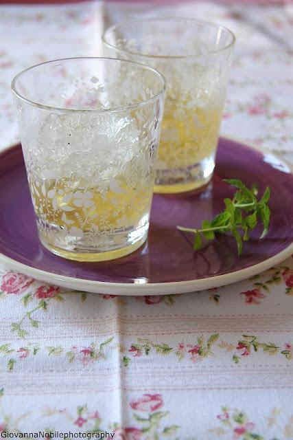 Granita di tè al gelsomino
