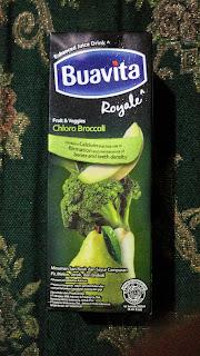 Kombinasi Broccoli, Pir, dan Melon Dalam Buavita Royale