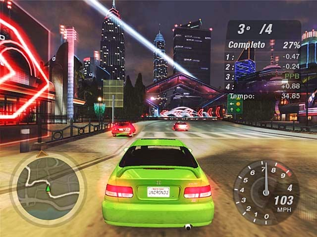 Need For Speed Underground 2 (Rip) PT-BR