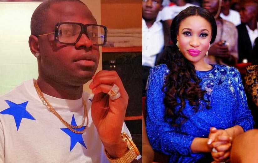 Jealousy: Tonto Dikeh's ex, Malivelihood, attempts to shade her over Lexus SUV gift from husband