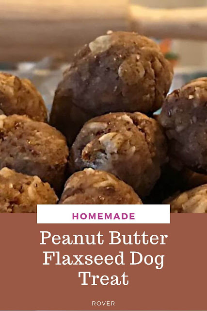 No-Bake Peanut Butter Flaxseed High-Protein Treats