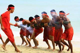 Bambu Gila Kesenian Tradisional Dari Maluku