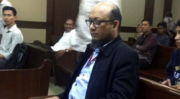 Novel Baswedan Bersaksi Untuk Terdakwa Kasus Kasus KTP-El Markus Nari