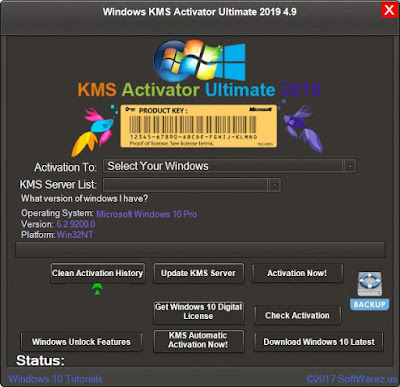 Windows KMS Activator Ultimate 2019 4.9