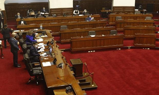 Frente Amplio, Partido Morado, SP y Frepap no apoyan admisión de vacancia