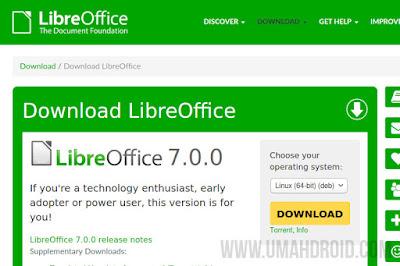 Download LibreOffice Terbaru Untuk Linux