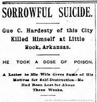 Obituary headlines from 3 Jun 1895 - The Buffalo Commercial (Buffalo, New York), pg. 10, col. 1.