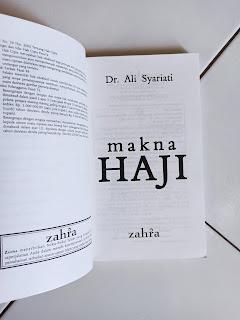 Makna Haji Penulis Dr. Ali Syariati
