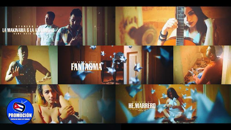 La Awtoridad & La Makinaria - ¨Fantasma¨ - Videoclip - Director: HE Marrero. Portal Del Vídeo Clip Cubano. Música cubana. Reguetón. Cuba.