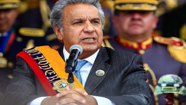 Lenín Moreno asegura que combatirá corrupción en Ecuador