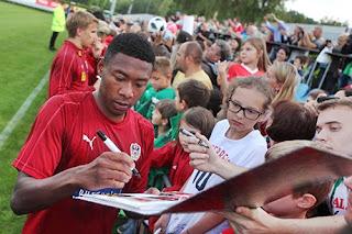 2018 World Cup: Austria Stars, Alaba, Arnautovic Visit Super Eagles, Wish Nigeria World Cup Success