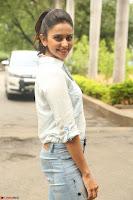 Rakul Preet Singh in Jeans and White Shirt At Jaya Janaki Nayaka le Logo Launch ~  Exclusive 018.JPG