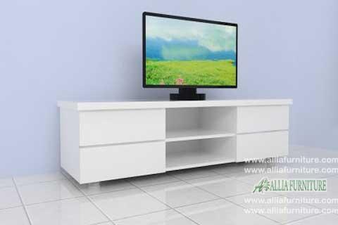 meja tv lcd minimalis model alaska