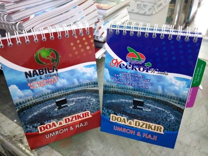Tempat Cetak Buku Do'a Umroh dan Haji yang Murah di Jakart