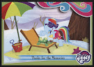 My Little Pony Tanks for the Memories Series 4 Trading Card
