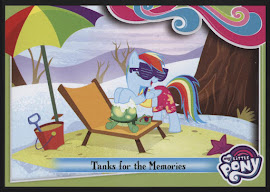 MLP Tanks for the Memories Series 4 Trading Card
