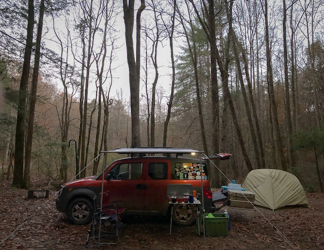 THE ROAD TO 300K - Off Grid in the Chattahoochee N.F.