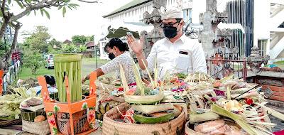 SMK TI Bali Global Badung, Piodalan Sang Hyang Aji Saraswati, Hari Raya Saraswati (2)