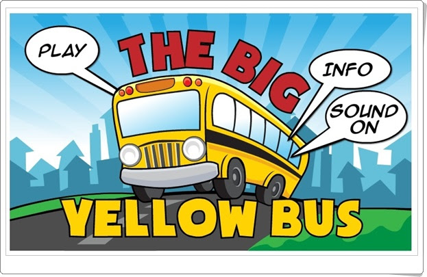 """The Big Yellow Bus"" (Juego de Suma hasta el número 11)"